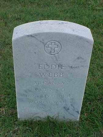WEBB (VETERAN WWI), EDDIE - Pulaski County, Arkansas | EDDIE WEBB (VETERAN WWI) - Arkansas Gravestone Photos
