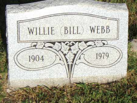 "WEBB, WILLIE ""BILL"" - Pulaski County, Arkansas 