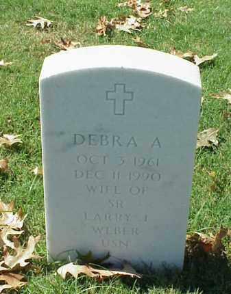 WEBER, DEBRA A. - Pulaski County, Arkansas | DEBRA A. WEBER - Arkansas Gravestone Photos