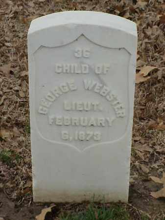 WEBSTER, CHILD - Pulaski County, Arkansas | CHILD WEBSTER - Arkansas Gravestone Photos