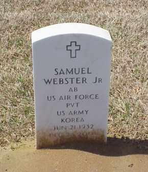 WEBSTER, JR (VETERAN KOR), SAMUEL - Pulaski County, Arkansas | SAMUEL WEBSTER, JR (VETERAN KOR) - Arkansas Gravestone Photos