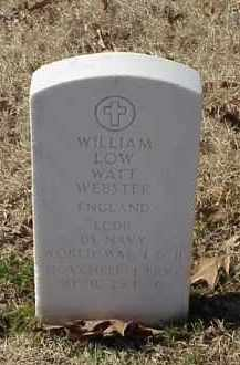 "WEBSTER (VETERAN 2 WARS), WILLIAM ""LOW WATT"" - Pulaski County, Arkansas 