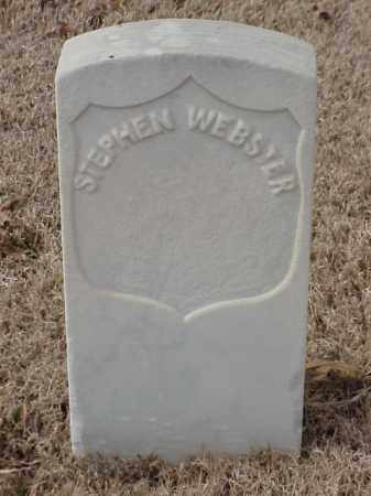 WEBSTER (VETERAN UNION), STEPHEN - Pulaski County, Arkansas | STEPHEN WEBSTER (VETERAN UNION) - Arkansas Gravestone Photos