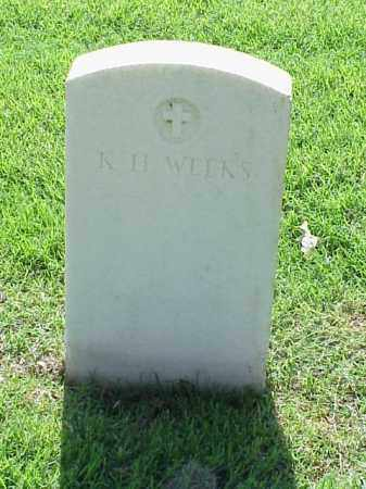 WEEKS (VETERAN UNION), K H - Pulaski County, Arkansas | K H WEEKS (VETERAN UNION) - Arkansas Gravestone Photos