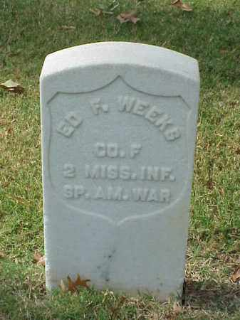 WEEKS (VETERAN SAW), ED F - Pulaski County, Arkansas | ED F WEEKS (VETERAN SAW) - Arkansas Gravestone Photos