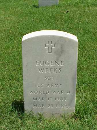 WEEKS (VETERAN WWII), EUGENE - Pulaski County, Arkansas | EUGENE WEEKS (VETERAN WWII) - Arkansas Gravestone Photos