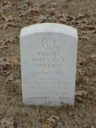 WEEKS (VETERAN WWII), HUGH WALLACE - Pulaski County, Arkansas | HUGH WALLACE WEEKS (VETERAN WWII) - Arkansas Gravestone Photos