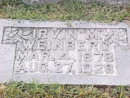 WEINBERG, IRVIN M - Pulaski County, Arkansas | IRVIN M WEINBERG - Arkansas Gravestone Photos