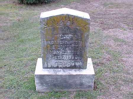 WEINER, RUTH - Pulaski County, Arkansas | RUTH WEINER - Arkansas Gravestone Photos