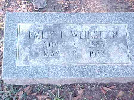 WEINSTEIN, EMILY F - Pulaski County, Arkansas | EMILY F WEINSTEIN - Arkansas Gravestone Photos