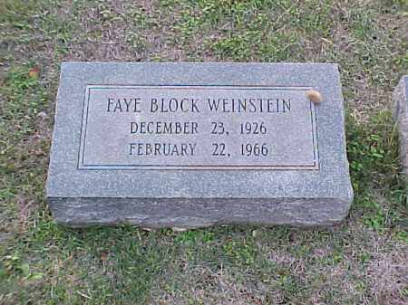 WEINSTEIN, FAYE - Pulaski County, Arkansas | FAYE WEINSTEIN - Arkansas Gravestone Photos