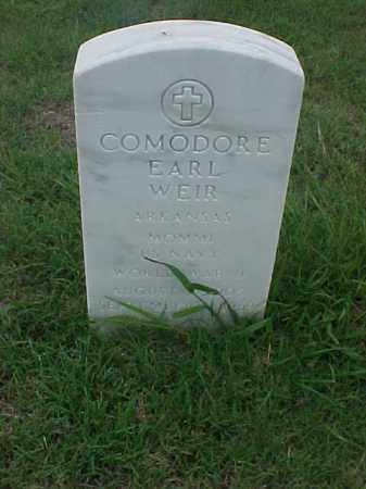 WEIR (VETERAN WWII), COMODORE EARL - Pulaski County, Arkansas | COMODORE EARL WEIR (VETERAN WWII) - Arkansas Gravestone Photos