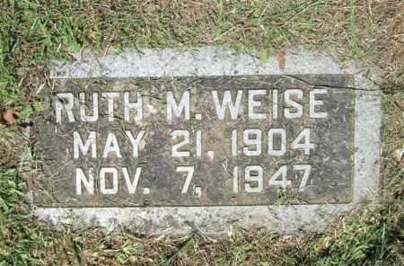 BILLINGS WEISE, RUTH MAE - Pulaski County, Arkansas | RUTH MAE BILLINGS WEISE - Arkansas Gravestone Photos