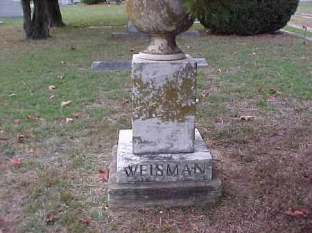 WEISMAN, ILLEGIBLE - Pulaski County, Arkansas | ILLEGIBLE WEISMAN - Arkansas Gravestone Photos