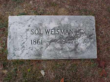 WEISMAN, SOL - Pulaski County, Arkansas | SOL WEISMAN - Arkansas Gravestone Photos