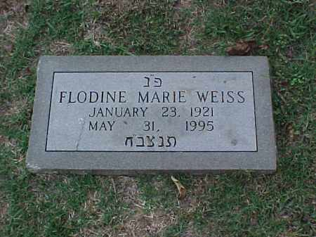 WEISS, FLODINE MARIE - Pulaski County, Arkansas | FLODINE MARIE WEISS - Arkansas Gravestone Photos