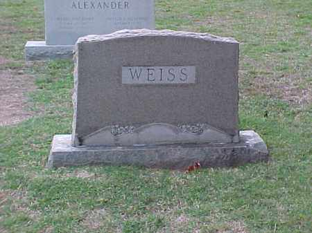WEISS FAMILY STONE,  - Pulaski County, Arkansas |  WEISS FAMILY STONE - Arkansas Gravestone Photos