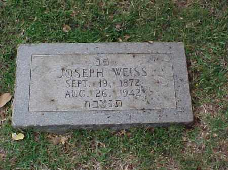 WEISS, JOSEPH - Pulaski County, Arkansas | JOSEPH WEISS - Arkansas Gravestone Photos