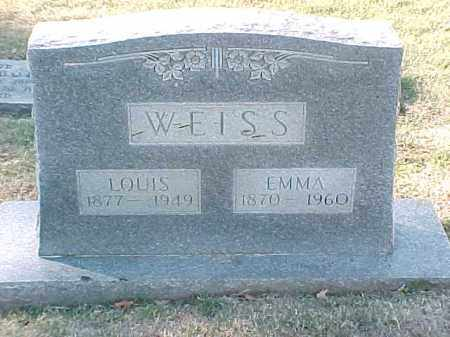 WEISS, LOUIS - Pulaski County, Arkansas | LOUIS WEISS - Arkansas Gravestone Photos
