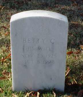 WELCH, BETTY C - Pulaski County, Arkansas | BETTY C WELCH - Arkansas Gravestone Photos