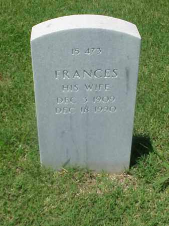 WELCH, FRANCES - Pulaski County, Arkansas | FRANCES WELCH - Arkansas Gravestone Photos