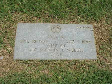 WELCH, IVA K - Pulaski County, Arkansas | IVA K WELCH - Arkansas Gravestone Photos