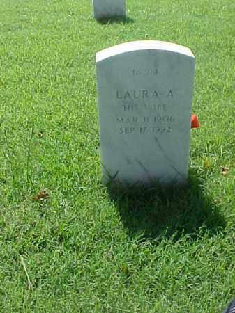 WELCH, LAURA A - Pulaski County, Arkansas | LAURA A WELCH - Arkansas Gravestone Photos