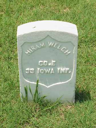 WELCH (VETERAN UNION), HIRAM - Pulaski County, Arkansas | HIRAM WELCH (VETERAN UNION) - Arkansas Gravestone Photos