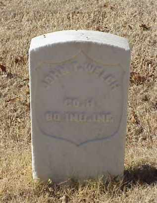 WELCH (VETERAN UNION), JOHN T - Pulaski County, Arkansas | JOHN T WELCH (VETERAN UNION) - Arkansas Gravestone Photos