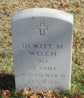 WELCH (VETERAN WWII), DEWITT M - Pulaski County, Arkansas | DEWITT M WELCH (VETERAN WWII) - Arkansas Gravestone Photos