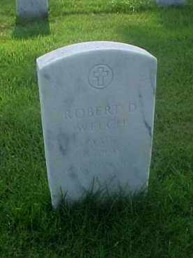WELCH (VETERAN WWII), ROBERT D - Pulaski County, Arkansas | ROBERT D WELCH (VETERAN WWII) - Arkansas Gravestone Photos