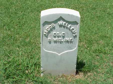 WELLEMS (VETERAN UNION), JACOB - Pulaski County, Arkansas | JACOB WELLEMS (VETERAN UNION) - Arkansas Gravestone Photos