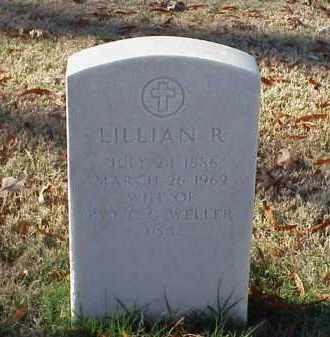 WELLER, LILLIAN R - Pulaski County, Arkansas | LILLIAN R WELLER - Arkansas Gravestone Photos