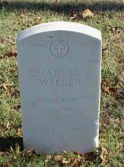 WELLER (VETERAN 3 WARS), CHARLES E - Pulaski County, Arkansas | CHARLES E WELLER (VETERAN 3 WARS) - Arkansas Gravestone Photos