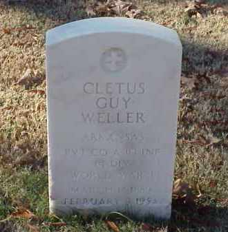 WELLER (VETERAN WWI), CLETUS GUY - Pulaski County, Arkansas | CLETUS GUY WELLER (VETERAN WWI) - Arkansas Gravestone Photos