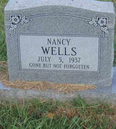 WELLS, NANCY - Pulaski County, Arkansas | NANCY WELLS - Arkansas Gravestone Photos