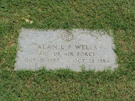 WELLS (VETERAN), ALAN L F - Pulaski County, Arkansas | ALAN L F WELLS (VETERAN) - Arkansas Gravestone Photos