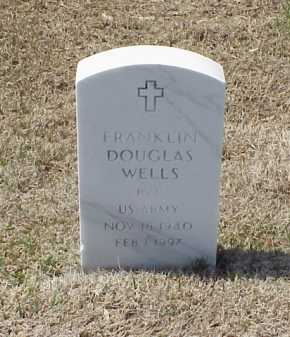 WELLS (VETERAN), FRANKLIN DOUGLAS - Pulaski County, Arkansas | FRANKLIN DOUGLAS WELLS (VETERAN) - Arkansas Gravestone Photos