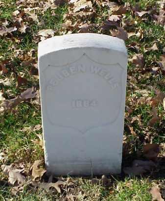 WELLS (VETERAN UNION), REUBEN - Pulaski County, Arkansas | REUBEN WELLS (VETERAN UNION) - Arkansas Gravestone Photos