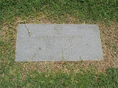 WELLS, MILDRED E - Pulaski County, Arkansas | MILDRED E WELLS - Arkansas Gravestone Photos