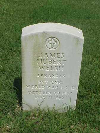 WELSH (VETERAN 2 WARS), JAMES HUBERT - Pulaski County, Arkansas | JAMES HUBERT WELSH (VETERAN 2 WARS) - Arkansas Gravestone Photos