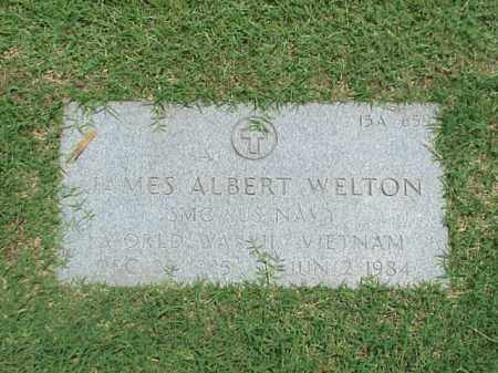 WELTON (VETERAN 3 WARS), JAMES ALBERT - Pulaski County, Arkansas | JAMES ALBERT WELTON (VETERAN 3 WARS) - Arkansas Gravestone Photos