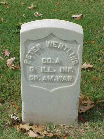 WENTLING (VETERAN SAW), PETER - Pulaski County, Arkansas | PETER WENTLING (VETERAN SAW) - Arkansas Gravestone Photos