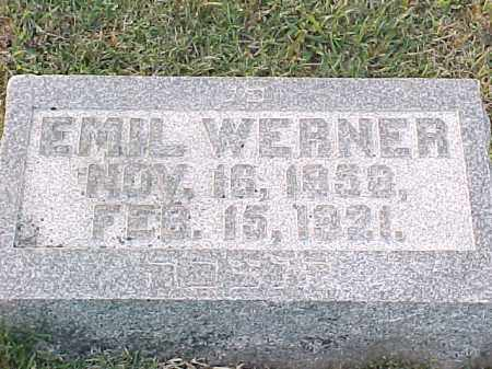 WERNER, EMIL - Pulaski County, Arkansas | EMIL WERNER - Arkansas Gravestone Photos