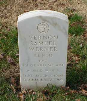WERNER (VETERAN WWII), VERNON SAMUEL - Pulaski County, Arkansas | VERNON SAMUEL WERNER (VETERAN WWII) - Arkansas Gravestone Photos