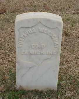 WERSCHKY (VETERAN UNION), GUSTAVUS - Pulaski County, Arkansas | GUSTAVUS WERSCHKY (VETERAN UNION) - Arkansas Gravestone Photos