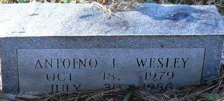 WESLEY, ANTONIO  I - Pulaski County, Arkansas | ANTONIO  I WESLEY - Arkansas Gravestone Photos
