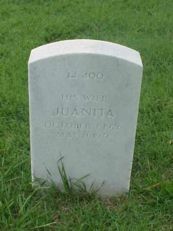 WESLEY, JUANITA - Pulaski County, Arkansas | JUANITA WESLEY - Arkansas Gravestone Photos