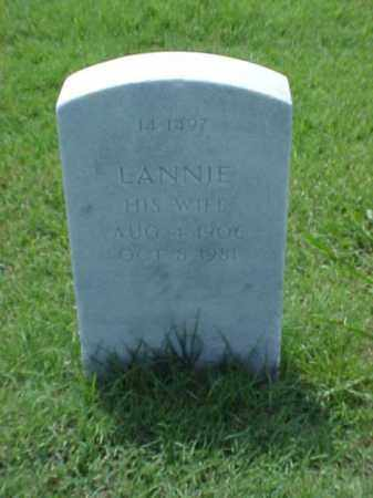 WESLEY, LANNIE - Pulaski County, Arkansas | LANNIE WESLEY - Arkansas Gravestone Photos