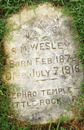 WESLEY, S. M. - Pulaski County, Arkansas | S. M. WESLEY - Arkansas Gravestone Photos